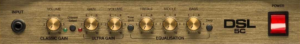 Marshall DSL5C controls