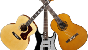 Acoustic or electric