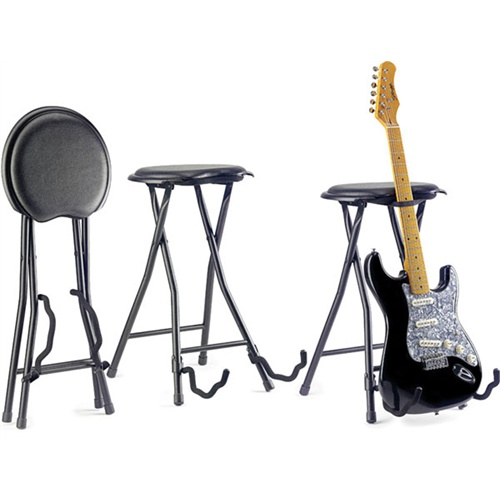 Stagg Foldable Guitar Stand And Stool Guitar