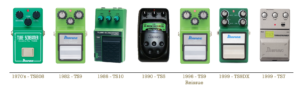 Tube Screamer Timeline